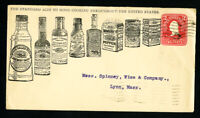 US Cover Advertising w/ 8x bottles of Cooking w/ Stamp