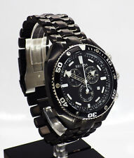 Sector Ocean Master Chronograph Quartz Men Watch on Bracelet 3273670125 With Box