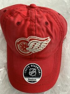 NHL WINTER CLASSIC DETROIT RED WINGS HAT REEBOK MICHIGAN HOCKEY SIZE BOYS 8-20
