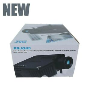 New Pyle Mini PRJG45 LED Projector Portable Home Theater, Gaming