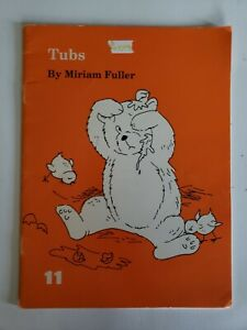Tubs Book Miriam Fuller 1970 Charles E Merrill A Bell & Howell Company Reading