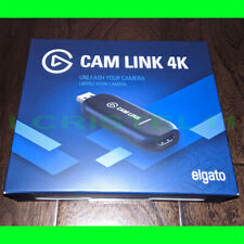 NEW - Elgato Cam Link 4K - HD Video Capture Device - Streaming - USB 3.1 & HDMI