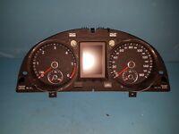 2013 Volkswagen Passat CC 3C8920971A Speedometer Clock Cluster