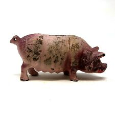 Cast Iron Pig Bank, Vintage 1970's