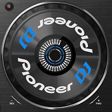 PIONEER DJ XDJ-RX (XDJ RX) JOG / SLIPMAT GRAPHICS / STICKERS - CDJ DDJ DJM