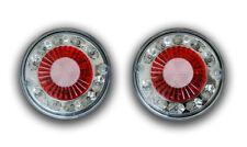 2 x 12V 19 LED TAIL LIGHTS HAMBURGER REAR LAMPS FOR TRUCK LORRY TIPPER CARAVAN