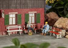 POLA G SCALE PARK BENCHES (4) BUILDING KIT | BN | 333221