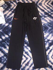 New Nike Virginia Tech Hokies Mens Dri Fit Athletic Pants XXL