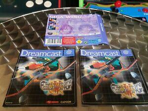 Gigawing (Giga Wing) - Sega Dreamcast - Genuine Manual & Inserts - No Game Disk