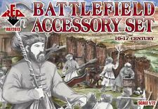 Red Box 1/72 Battlefield Accessory Set (16-17 century) # 72073