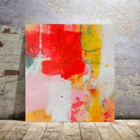 Painting original abstract acrylic  on canvas colorfull modern art nice gift