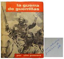 Che Guevara / La Guerra de Guerrillas Guerilla Warfare Signed 1st Edition 1961