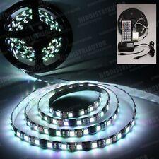 5m RGB 5050 SMD LED 300 LEDS Waterproof Flex Light Strip 44 Key IR 5A Power (B)