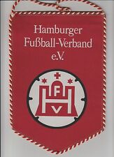HAMBURGER FOOTBALL ASSOCIATION GERMANY ORIGINAL LARGE 1980'S PENNANT V GOOD CON