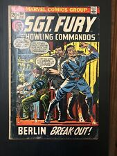 Sgt. Fury And His Howling Commandos #103 VG 1972 Hitler cover