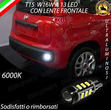 LAMPADA RETROMARCIA 13 LED T15 W16W CANBUS PER FIAT PANDA 6000K NO ERROR