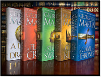A Game of Thrones Set ALL ✎SIGNED✎ by GEORGE RR MARTIN New Fire & Ice Hardbacks