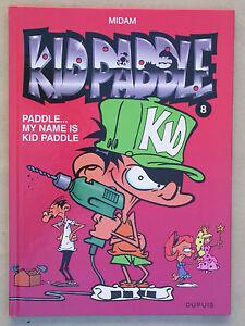 Kid Paddle BD n°8 - My name is Kid Paddle - Bande dessinée pour enfant Jeu vidéo