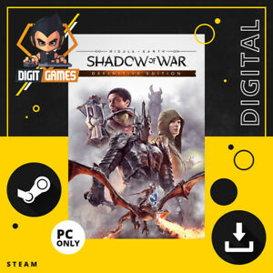 Middle Earth Shadow of War / Definitive Edition - Steam Key / PC Game