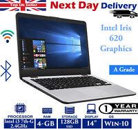 Asus VivoBook X405U 14-inch Laptop Intel i3 7th-Gen 2.40Ghz 4GB RAM 128GB SSD