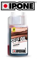 Huile pour mélange 2 Temps IPONE SELF OIL SELF2 cyclo mobylette cyclomoteur 2T