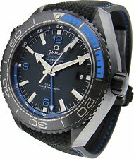 "215.92.46.22.01.002 | NEW OMEGA SEAMASTER PLANET OCEAN ""DEEP BLACK"" MENS WATCH"