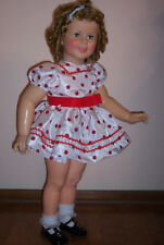 REPRO STAND UP & CHEER DOLL DRESS IDEAL SHIRLEY TEMPLE 35 INCH PATTI PLAYPAL 36