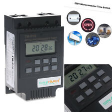 24hr Timer Switch LCD Digital Weekly Plug-in Programmable Power Relay Socket 30A