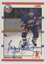 2011-12 Score Recollection Collection Buybacks /5 Bryan Trottier #270 Auto HOF