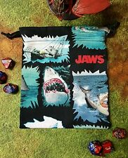 Jaws shark bite dice bag