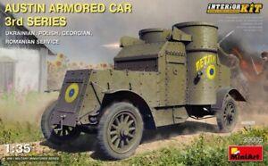 Miniart 1/35 Austin Armored Car 3rd Series: Ukrainian, Polish, Georgian, Romania