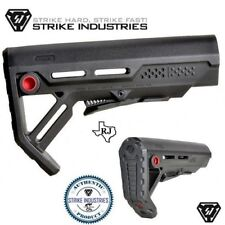 Strike Industries Viper Black/RedQD MOD-1 MSpec Compact QD minimalist Stock Mod1