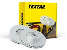 NEW TEXTAR FRONT BRAKE DISCS SET 92182425  FREE DELIVERY OE QUALITY