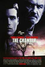 THE CHAMBER Movie POSTER 27x40 C Gene Hackman Chris O'Donnell Faye Dunaway Lela