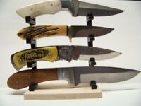 Knife Display Stand Knife Rack Fixed or Folding Blade Medium Knives z