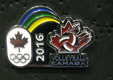 2016 RIO Rare Olympic CANADA NOC STAFF limited VOLLEYBALL TEAM Internal  pin