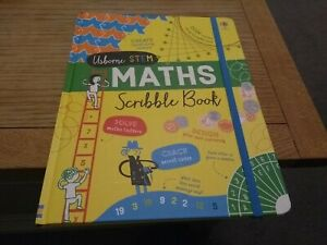 Usbourne Stem Maths Scribble Book