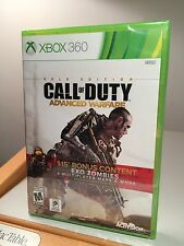 CALL OF DUTY ADVANCED WARFARE GOLD VERSION / XBOX 360 ~ NEW MAPS & $15 IN XTRAS