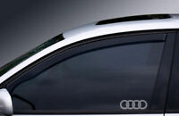AUDI A2, A3, A4, A6 WINDOW ETCHED GLASS VINYL DECALS-STICKERS X2 – 7YR VINYL ...