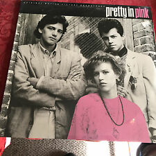 PRETTY IN PINK - OST- VINYL LP PIC COV - 1ST PRESS - OMD-SMITHS-NEW ORDER-INXS +