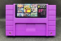 120 in 1 SNES Super Nintendo Multi Cart Game USA Seller