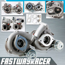 90-96 300ZX Z32 VG30DETT Upgrade Bolt On Twin Turbo Charger T25 600HP VG30 12PSI