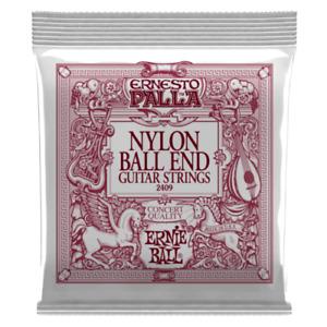 🔥 ERNIE BALL 2409 Ernesto Palla Classical Nylon Ball End Guitar Strings