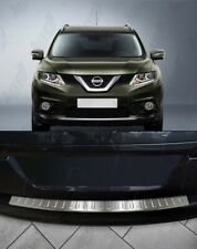 For 2014-17Nissan X-Trail T32 Chrome Rear Bumper Protector Scratch Guard S.Steel