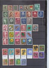 Switzerland Pro Juventute Mint collection - includes several sets