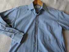 Issey Miyake IM product design studio Japan blue long sleeve shirt S