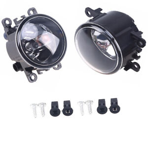 2X CLEAR Fog Light Bumper Lamp w/Bulb Set X For Dacia Duster Sandero Logan 04-15