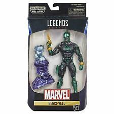 Marvel Legends GENIS-VELL Captain Marvel Kree Sentry BAF Wave Figure