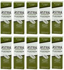 1000 pcs Astra Superior Platinum Double Edge Shaving Razor Blades