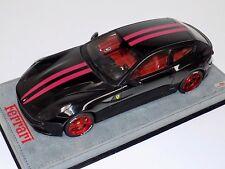 1/18 MR Collection Ferrari FF in Gloss Black with Red Stripe and Wheels